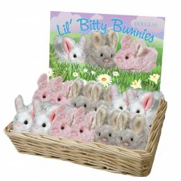 Douglas Lil' Bitty Bunny Plush (Assorted Colors)
