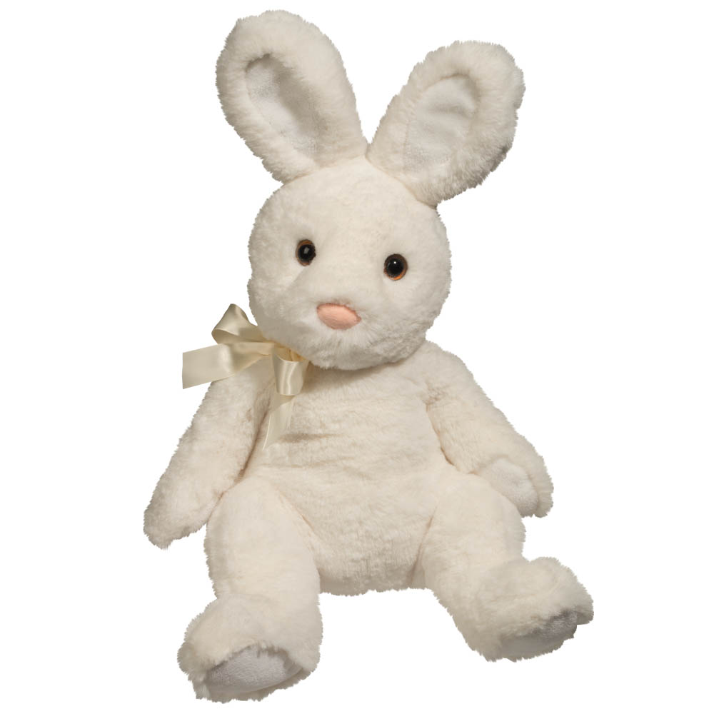 Douglas Stasha the White Bunny Plush