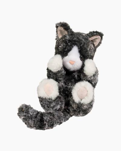 Black and White Kitten L'il Handfuls Plush