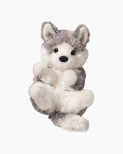 Husky Puppy L'il Handfuls Plush