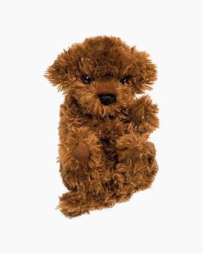 Chocolate Doodle Puppy L'il Handfuls Plush