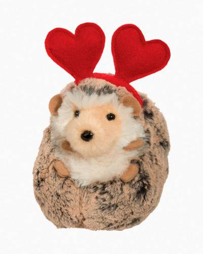 Valentine's Day Spunky the Hedgehog Plush with Heart
