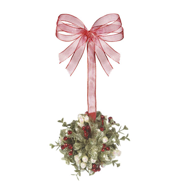 Ganz Small Mistletoe Kissing Ball
