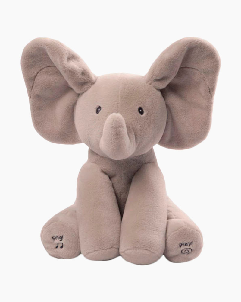Gund Flappy Elephant Singing Interactive Plush