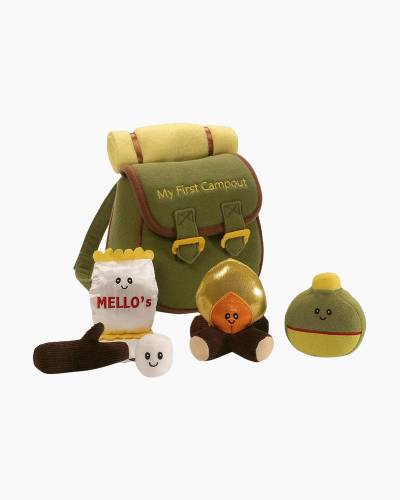My First Campout Plush Playset