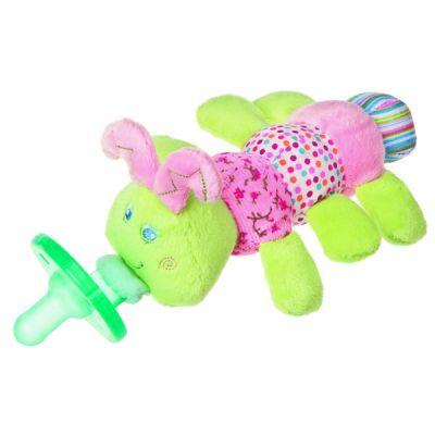 Cutsie Caterpillar WubbaNub Pacifier Plush