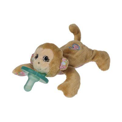 Maddie Monkey WubbaNub Pacifier Plush