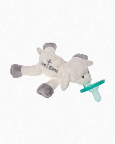 God Bless Lamb WubbaNub Pacifier Plush