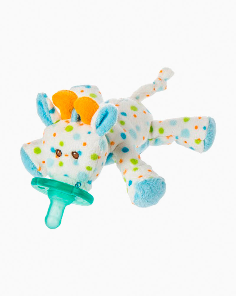 Mary Meyer Stretch Giraffe WubbaNub Pacifier Plush