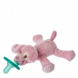 Mary Meyer Pink Puppy WubbaNub Pacifier Plush