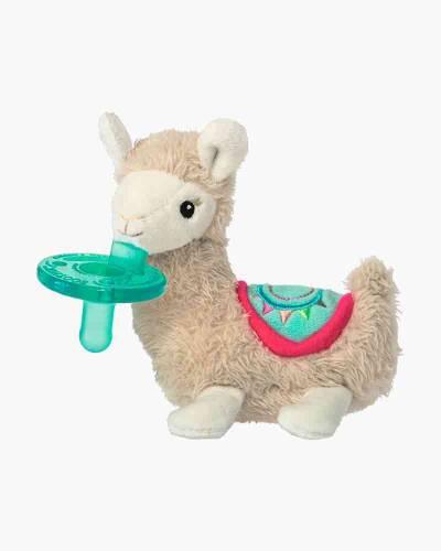 Lily Llama WubbaNub Pacifier Plush