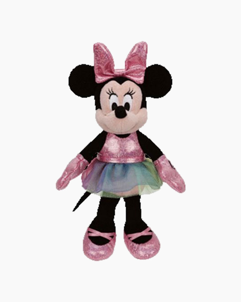 Ty Disney Minnie Mouse Ballerina Beanie Babies Plush
