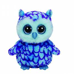 Ty Oscar the Owl Medium Beanie Boo's Plush