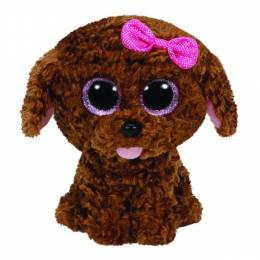Ty Brown Maddie Dog Medium Boo