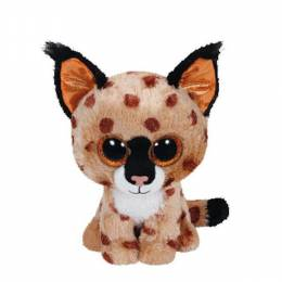 Ty Buckwheat the Lynx Beanie Boo's Plush