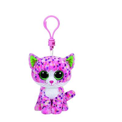 Sophie the Pink Cat Beanie Boo's Clip