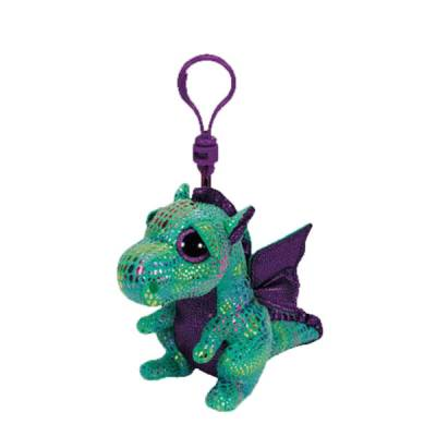 Cinders the Dragon Beanie Boo's Clip
