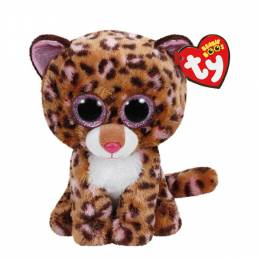 Ty Patches the Tan Leopard Beanie Boo's Plush