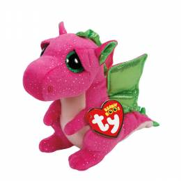 Ty Darla the Pink Dragon Beanie Boo's Plush