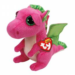 Ty Darla the Pink Dragon Beanie Boo's Medium Plush