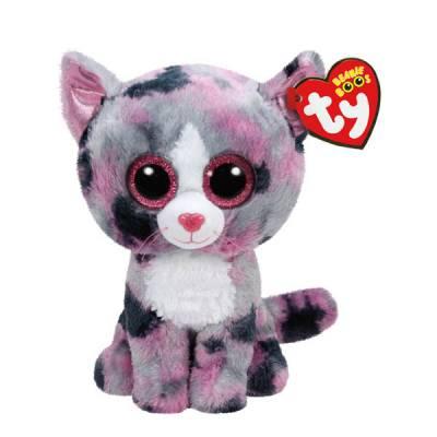 Lindi the Cat Beanie Boo's Plush