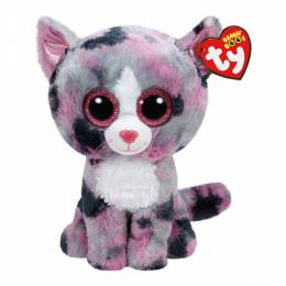Ty Lindi the Cat Beanie Boo's Medium Plush