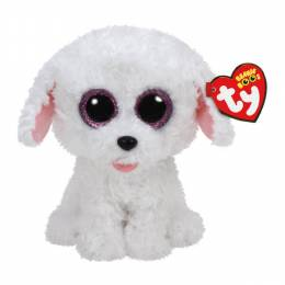 Ty Pippie the White Dog Beanie Boo's Plush