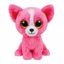 Ty Limited Edition Pashun the Pink Chihuahua Beanie Boo's Plush