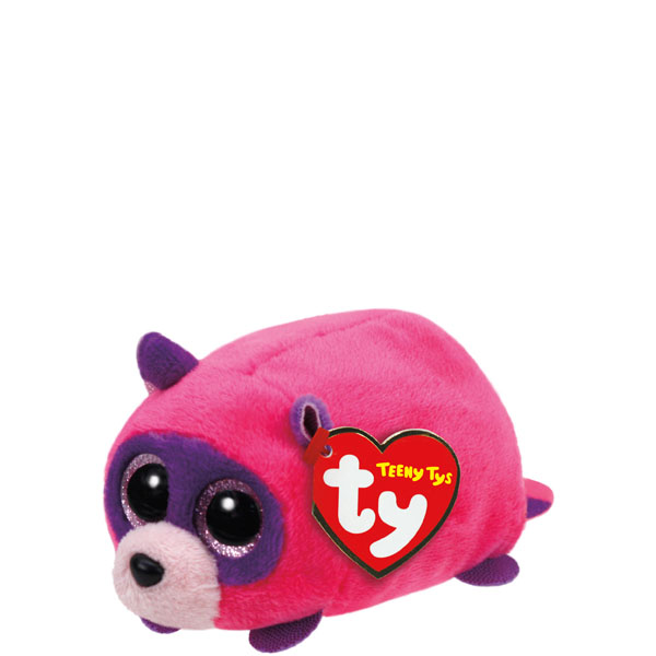 Ty Rugger the Raccoon Teeny Tys Plush