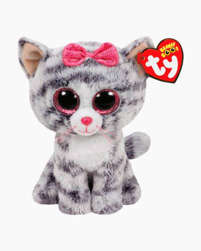 Kiki the Grey Cat Beanie Boo's Plush