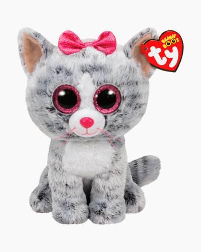 Kiki the Grey Cat Beanie Boo's Medium Plush