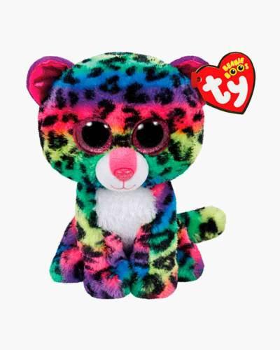 Dotty the Rainbow Leopard Beanie Boo's Plush