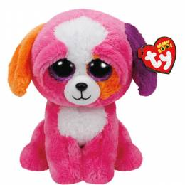 Ty Precious the Dog Beanie Boo's Medium Plush