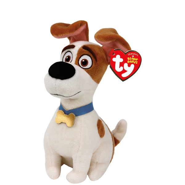 Ty The Secret Life of Pets Max Beanie Babies Plush