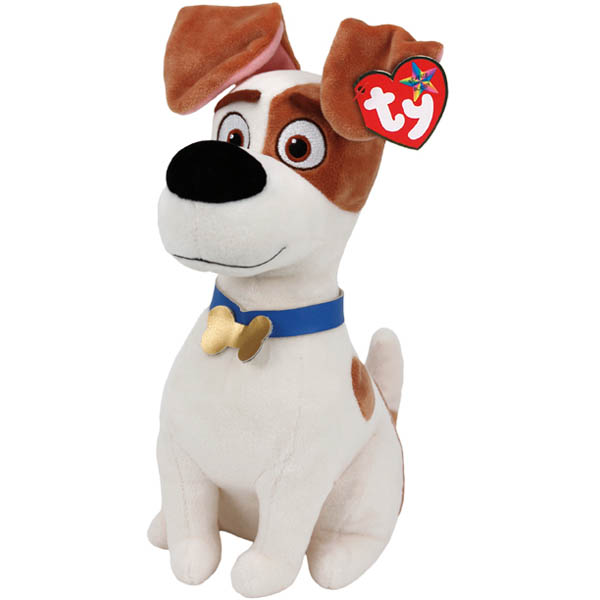 Ty The Secret Life of Pets Max Beanie Buddies Plush