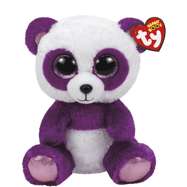 Ty Boom Boom the Panda Beanie Boo's Medium Plush
