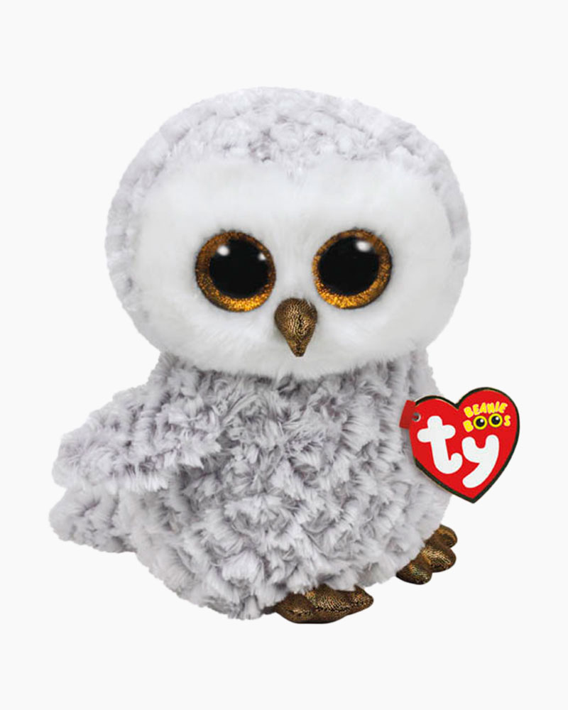 Ty Owlette the Owl Beanie Boo's Medium Plush