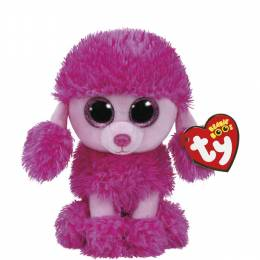 Ty Patsy the Poodle Beanie Boo's Regular Plush