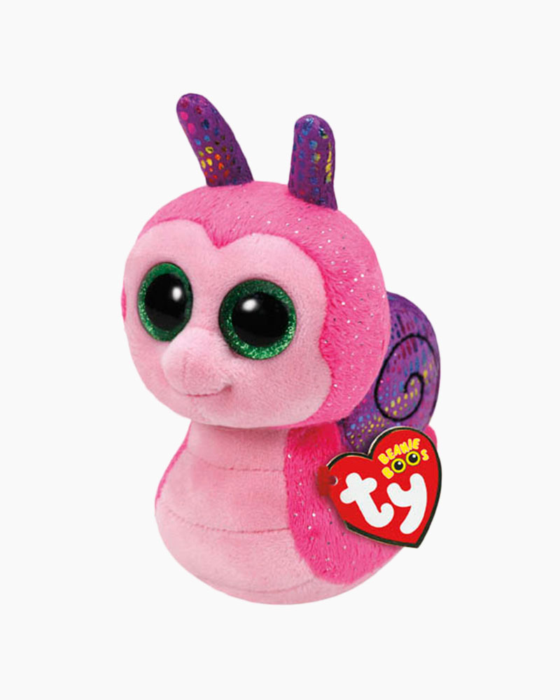 Ty Scooter the Snail Beanie Boo's Regular Plush