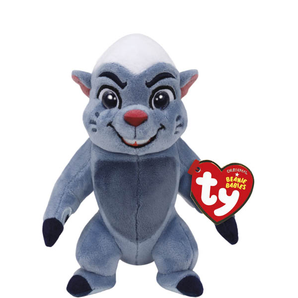 Ty Disney's The Lion Guard Bunga the Honey Badger Beanie Babies Plush