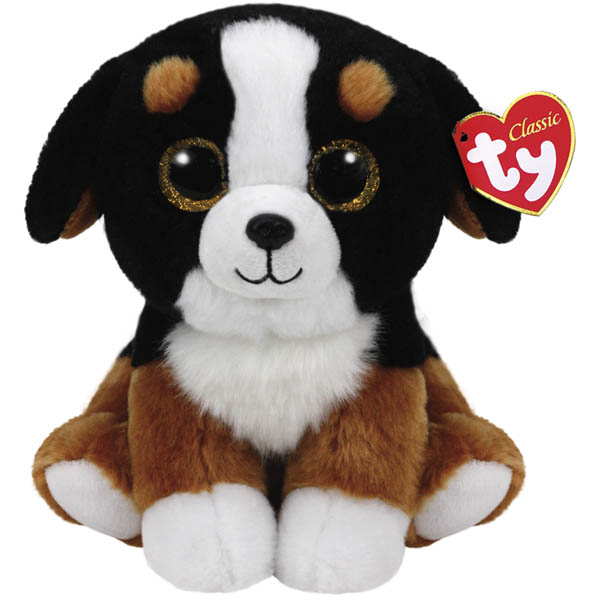 Ty Roscoe the Bernese Mountain Dog Classic Medium Plush