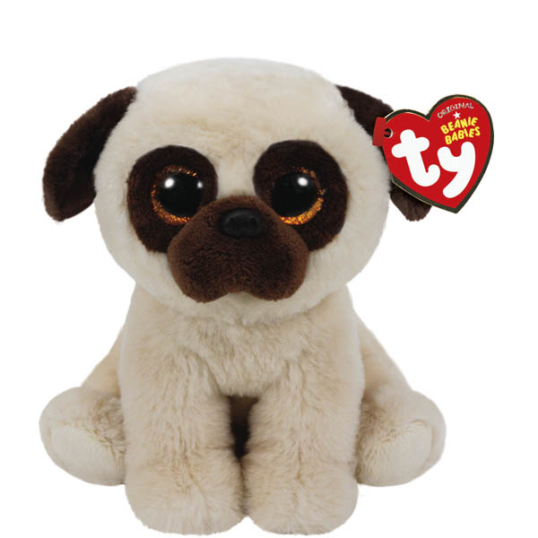 Ty Rufus the Pug Classic Regular Plush