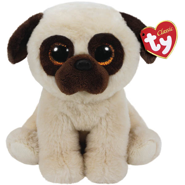 Ty Rufus the Pug Classic Medium Plush