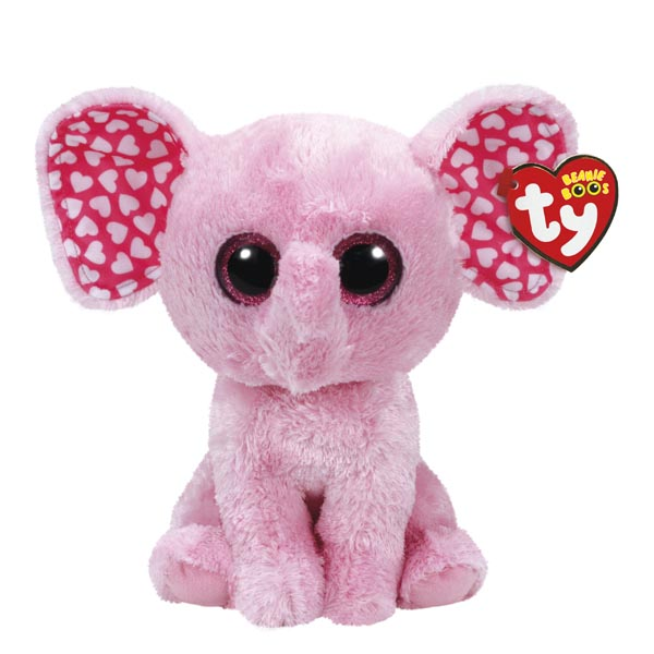 Ty Sugar the Elephant Beanie Boo's Medium Plush