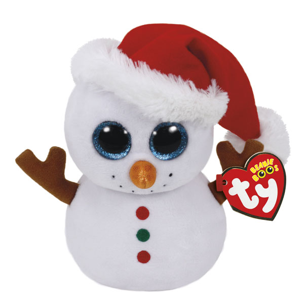 Ty Scoop the Snowman Beanie Boo's Regular Plush