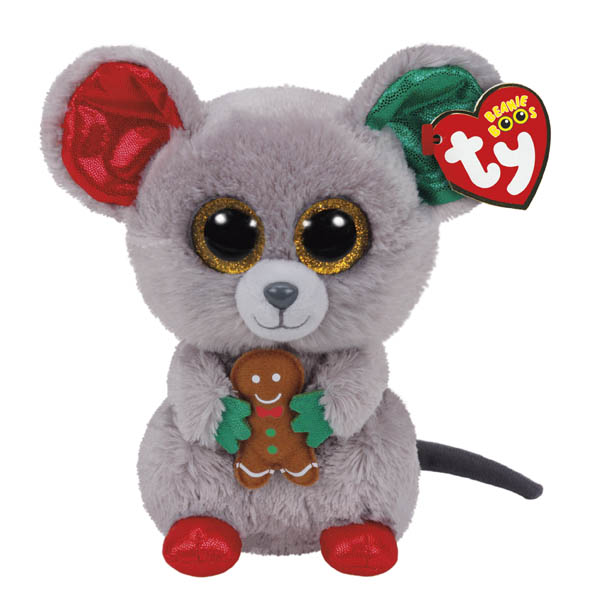 Ty Mac the Mouse Beanie Boo's Regular Plush