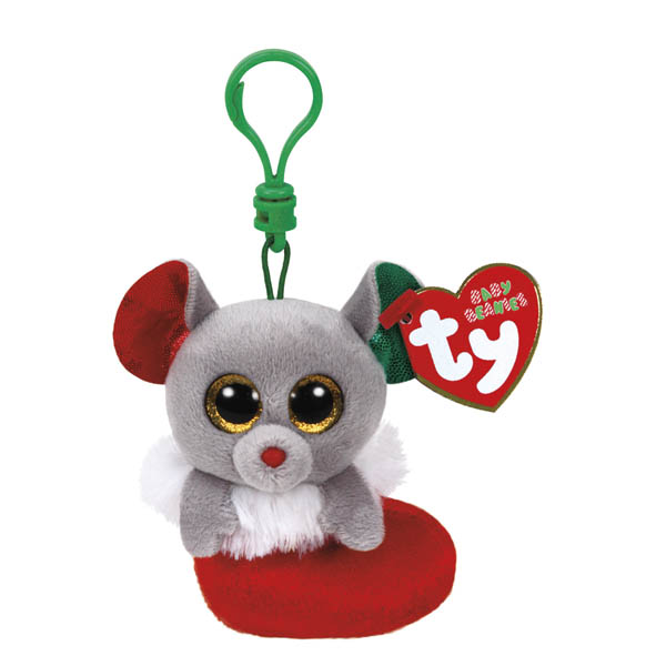 Ty Bundles the Mouse Beanie Boo's Clip