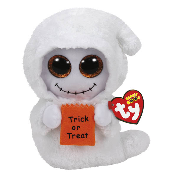 Ty Mist the Ghost Beanie Boo's Medium Plush