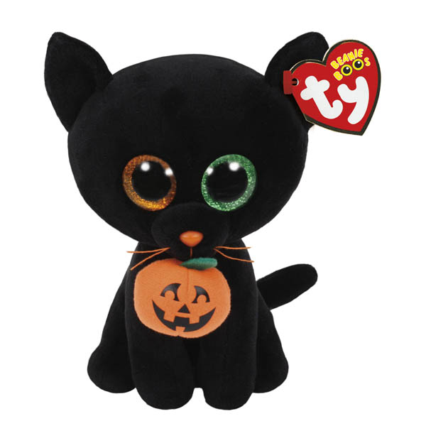 Ty Shadow the Black Cat Beanie Boo's Regular Plush