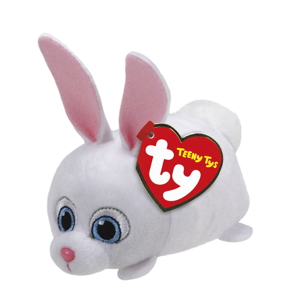 Ty The Secret Life of Pets Snowball Teeny Tys Plush